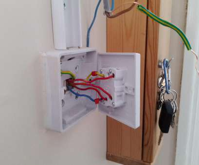 light switch wiring red blue yellow installing outside light need help, DIYnot Forums Light Switch Wiring, Blue Yellow Best Installing Outside Light Need Help, DIYnot Forums Pictures