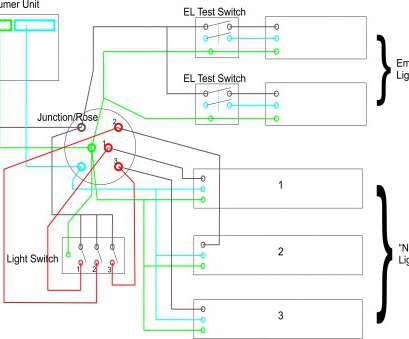 emergency light switch wiring diagram technical diagrams Multi-Tap Ballast Wiring Diagram