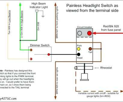 light switch wiring how to Headlight Switch Wiring Diagram Universal For Light Switch Wiring, To Brilliant Headlight Switch Wiring Diagram Universal For Galleries
