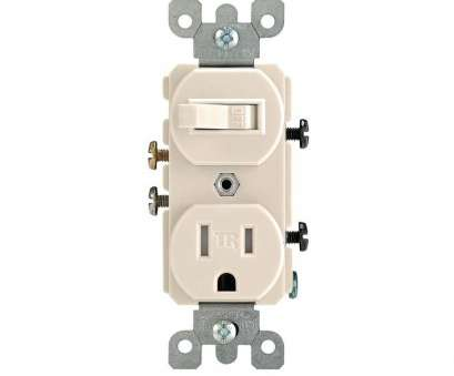 light switch wiring with outlet Leviton 15, Tamper-Resistant Combination Switch/Outlet, Light Almond Light Switch Wiring With Outlet Fantastic Leviton 15, Tamper-Resistant Combination Switch/Outlet, Light Almond Solutions