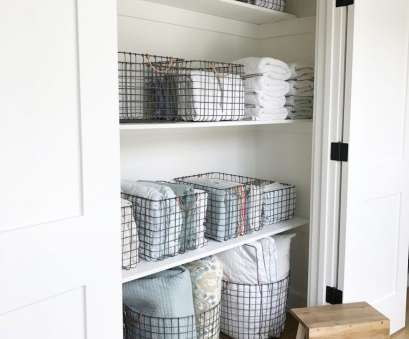 linen closet wire shelving wire baskets // linen closet organization // @simplifiedbee Linen Closet Wire Shelving Simple Wire Baskets // Linen Closet Organization // @Simplifiedbee Pictures