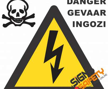 live electrical wire danger (E3) Electrical Shock Danger Sign Live Electrical Wire Danger Nice (E3) Electrical Shock Danger Sign Pictures