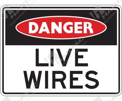 live electrical wire danger HS5182, Danger (Electrical)