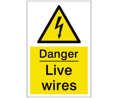 live electrical wire danger Live Wires Sign Live Electrical Wire Danger Professional Live Wires Sign Galleries
