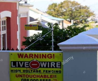 live wire electric fences western cape Electric fencing around a property in Cape Town, South Africa., Stock Image Live Wire Electric Fences Western Cape Most Electric Fencing Around A Property In Cape Town, South Africa., Stock Image Pictures
