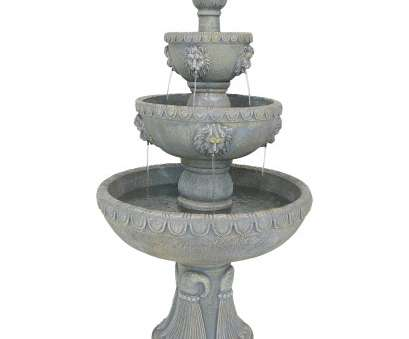 live wire electrical fountain valley Shop Sunnydaze Lion Head Outdoor Water Fountain, 4-Tier Corded Electric, 53-Inch, On Sale, Free Shipping Today, Overstock.com, 11594788 Live Wire Electrical Fountain Valley Most Shop Sunnydaze Lion Head Outdoor Water Fountain, 4-Tier Corded Electric, 53-Inch, On Sale, Free Shipping Today, Overstock.Com, 11594788 Solutions