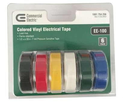 live wire electrical tape Commercial Electric, in. x 20, Electric Tape, Multi-Color (6-Pack) Live Wire Electrical Tape Professional Commercial Electric, In. X 20, Electric Tape, Multi-Color (6-Pack) Galleries