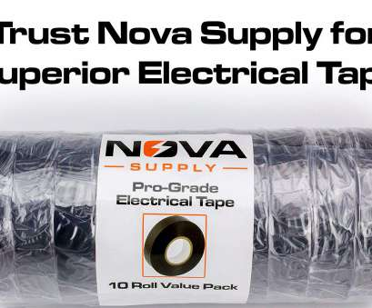 live wire electrical tape Nova Supply's, Grade Black Electrical Tape Jumbo Roll 10 Pack. Huge 60 Foot Rolls Of, Inch, Vinyl With Ultra Weather-Resistant Adhesive. Live Wire Electrical Tape New Nova Supply'S, Grade Black Electrical Tape Jumbo Roll 10 Pack. Huge 60 Foot Rolls Of, Inch, Vinyl With Ultra Weather-Resistant Adhesive. Images