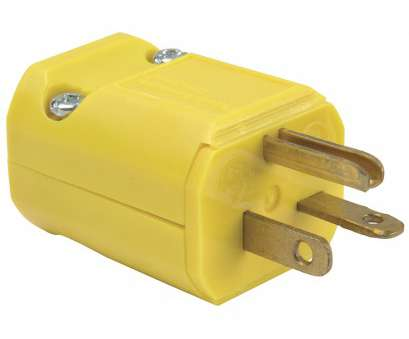 Lowes Electrical Wire Clamp Simple Shop Legrand 20-Amp 250-Volt Yellow 3-Wire Grounding Plug At Lowes.Com Pictures