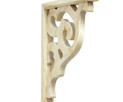 lowes wire shelf supports 1.5-in x 12-in Pine Unfinished Wood Corbel Lowes Wire Shelf Supports Creative 1.5-In X 12-In Pine Unfinished Wood Corbel Ideas