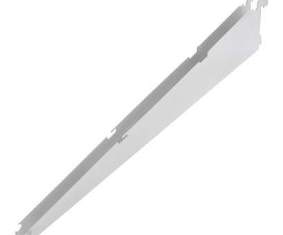 lowes wire shelving brackets Rubbermaid FastTrack White Shelving Bracket (Common: 0.7-in x 4.75-in x 18 Fantastic Lowes Wire Shelving Brackets Pictures