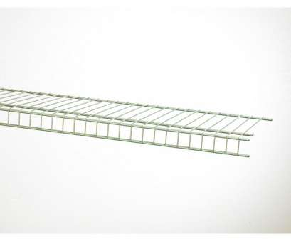 lowes wire shelving closetmaid Shop ClosetMaid 6-ft, 16-in D Satin Chrome Wire Shelf at Lowes.com Lowes Wire Shelving Closetmaid Nice Shop ClosetMaid 6-Ft, 16-In D Satin Chrome Wire Shelf At Lowes.Com Ideas