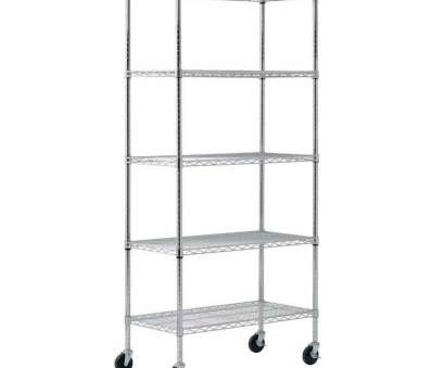 lowes wire shelving on wheels Sturdy D Chrome Wire Commercial Shelving Home Depot Sandusky Lowes Wire Shelving On Wheels Cleaver Sturdy D Chrome Wire Commercial Shelving Home Depot Sandusky Galleries
