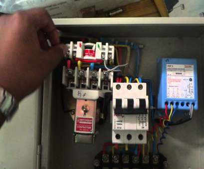 l&t starter wiring diagram connection, 3 phase panel L&T Starter Wiring Diagram Practical Connection, 3 Phase Panel Pictures