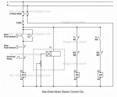 l&t dol starter wiring diagram Electric Motor Star Delta Wiring Diagram, Connection In 3 Phase Induction Of L&T, Starter Wiring Diagram Cleaver Electric Motor Star Delta Wiring Diagram, Connection In 3 Phase Induction Of Ideas