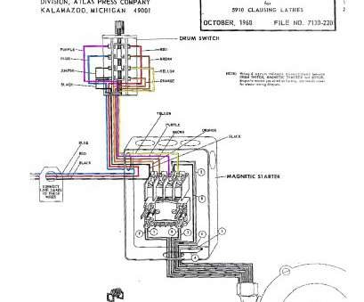 15 Popular Magnetic Motor Starter Wiring Diagram Images
