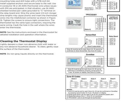 masterstat thermostat wiring diagram Mark, position of, subbase mounting holes, drill holes with a /6 Masterstat Thermostat Wiring Diagram Professional Mark, Position Of, Subbase Mounting Holes, Drill Holes With A /6 Photos