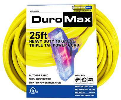 max amps for 26 gauge wire 10/3-Gauge Triple, Heavy Duty Extension Power Cord Max Amps, 26 Gauge Wire Top 10/3-Gauge Triple, Heavy Duty Extension Power Cord Galleries