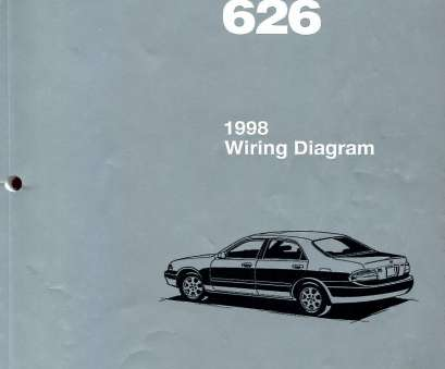 mazda 626 electrical wiring diagram REAL ORIGINAL BOOK, pages printed by Mazda complete Electrical Wiring Diagrams, all 1998 Mazda, as used in Mazda Dealerships by Dealership Service 13 Simple Mazda, Electrical Wiring Diagram Ideas