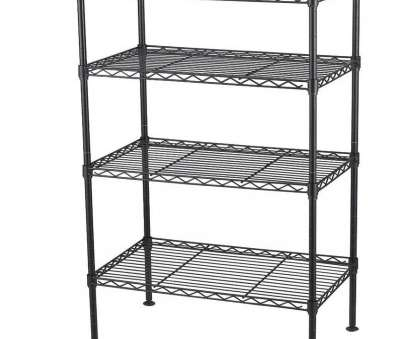 menards white wire shelving Full Size of Shelves Ideas:shelving Units Heavy Duty Industrial Shelving Metal Rack Lowes Wire 17 Creative Menards White Wire Shelving Images
