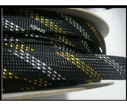 mesh wire loom 10Meter Braided Cable 8 16mm Wiring Harness Loom Protection/Sleeving Black&Gold&Silver-in Audio & Video Cables from Computer & Office on Aliexpress.com 17 Practical Mesh Wire Loom Solutions
