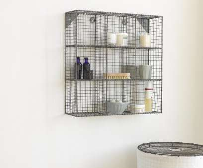 metal wire bathroom shelf Industrial style waffle bathroom metal wire shelving. Waffle shelves 20 New Metal Wire Bathroom Shelf Galleries