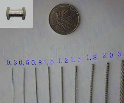 metal wire gauge to mm 100M/Roll, Structure AISI, 0.6 MM Diameter Stainless Steel Wire Rope-in Tool Parts from Tools on Aliexpress.com, Alibaba Group Metal Wire Gauge To Mm Practical 100M/Roll, Structure AISI, 0.6 MM Diameter Stainless Steel Wire Rope-In Tool Parts From Tools On Aliexpress.Com, Alibaba Group Solutions