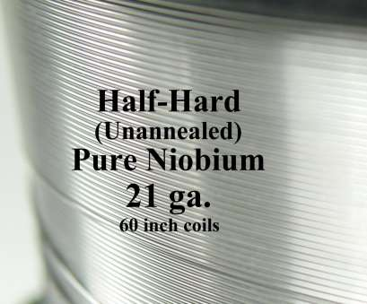 metal wire gauge to mm Pure Niobium Wire, 21 gauge (.029 inch diameter / .7366, 21ga AWG) 5-foot (60-inch) coils, Natural, Unannealed (Half Hard) Free Ship Metal Wire Gauge To Mm Best Pure Niobium Wire, 21 Gauge (.029 Inch Diameter / .7366, 21Ga AWG) 5-Foot (60-Inch) Coils, Natural, Unannealed (Half Hard) Free Ship Solutions