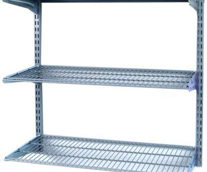 metal wire wall shelving Heavy Duty Lowes Metal Shelving To Organize Home Interior: Lowes Metal Shelving With Garage Shelving Metal Wire Wall Shelving Top Heavy Duty Lowes Metal Shelving To Organize Home Interior: Lowes Metal Shelving With Garage Shelving Photos