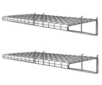 metal wire wall shelving Proslat 24, H x 14, W, in. D Ventilated Wire Shelf (2-Pack) Metal Wire Wall Shelving Creative Proslat 24, H X 14, W, In. D Ventilated Wire Shelf (2-Pack) Photos