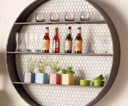 metal wire wall shelving Round Metal Chicken Wire Shelf, Shades of Light Metal Wire Wall Shelving Nice Round Metal Chicken Wire Shelf, Shades Of Light Solutions