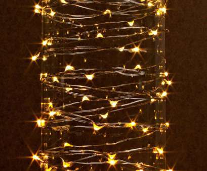 micro christmas lights white wire Gerson 38624 60 Light 20 Silver Wire Warm White Battery Operated Outdoor, Micro Miniature Christmas Light String, with Timer, Check, the image 11 Brilliant Micro Christmas Lights White Wire Images