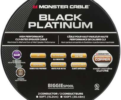 monster speaker wire gauge Monster Black Platinum XP Clear Jacket 100' In-Wall Compact Speaker Cable Clear MC, XP-CI BIG-100 WW 140732, Best Buy Monster Speaker Wire Gauge Brilliant Monster Black Platinum XP Clear Jacket 100' In-Wall Compact Speaker Cable Clear MC, XP-CI BIG-100 WW 140732, Best Buy Collections