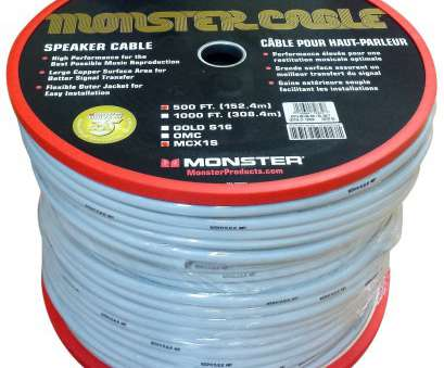 monster speaker wire gauge MONSTER CABLE M Series MCX-1S MKII-500 Speaker Wire -, Ft Monster Speaker Wire Gauge Perfect MONSTER CABLE M Series MCX-1S MKII-500 Speaker Wire -, Ft Images
