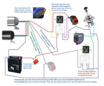 motorcycle light switch wiring diagram 3500LM Cree, Light X2 Switch 2allbuyer, Wiring Diagram, Throughout Motorcycle Lights Motorcycle Light Switch Wiring Diagram Professional 3500LM Cree, Light X2 Switch 2Allbuyer, Wiring Diagram, Throughout Motorcycle Lights Images