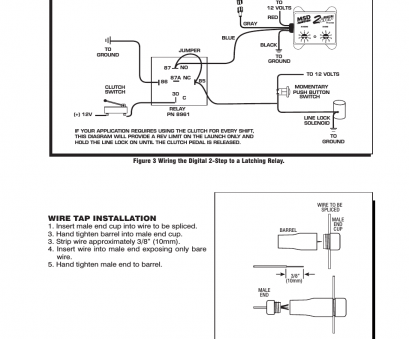 msd 6al 2 step wiring diagram Wire, installation,, 8732 2-Step, Control, Digital, Installation User Manual, Page, 4 17 Creative Msd, 2 Step Wiring Diagram Ideas