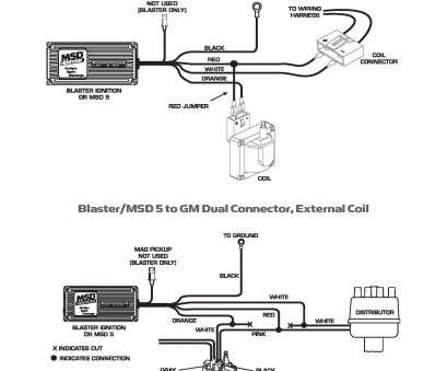 msd 6a wiring diagram gm ..., 5 Series/Blaster to GM dual connector external coil 9 Cleaver Msd 6A Wiring Diagram Gm Images