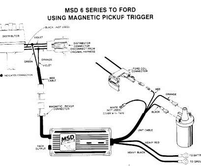 Magnetic Pick Up With Msd Al Wiring Diagram on