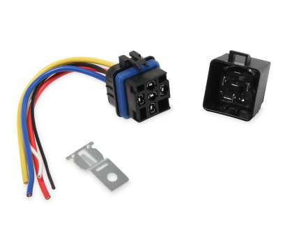 msd electrical wire connector kit 89611 -, SPST Relay w/Socket Harness Image Msd Electrical Wire Connector Kit Nice 89611 -, SPST Relay W/Socket Harness Image Images