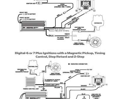 Msd Ignition 6425 Digital, Wiring Diagram Perfect Msd Ignition Wiring Diagrams, Digital 6 Plus Diagram Pn 6425, Hei Galleries