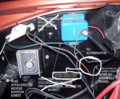msd 6al wiring diagram chrysler msd ignition, voltage regulator, Mopar Forums Msd, Wiring Diagram Chrysler Top Msd Ignition, Voltage Regulator, Mopar Forums Galleries