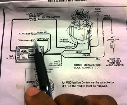 msd 6al wiring diagram to hei HOW TO INSTALL, 6AL IGNITION, ON HEI Msd, Wiring Diagram To Hei Simple HOW TO INSTALL, 6AL IGNITION, ON HEI Galleries