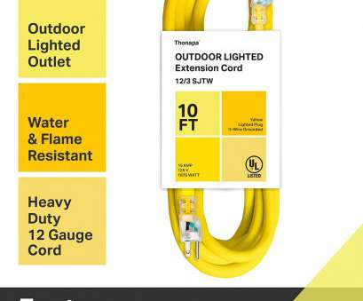 napa 12 gauge wire Thonapa 10, 25, 50 Ft or, Ft Outdoor Extension Cord, 12/3 Heavy Duty Yellow Extension Cable with 3 Prong Grounded Plug, Safety Napa 12 Gauge Wire Cleaver Thonapa 10, 25, 50 Ft Or, Ft Outdoor Extension Cord, 12/3 Heavy Duty Yellow Extension Cable With 3 Prong Grounded Plug, Safety Images