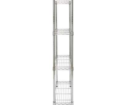 narrow wire rack shelving Amazon.com: Storables Chrome 4-Tier Steel Wire Shelving,, D x, W x, H, narrow, depth shelves, small pantry kitchen storage, office Narrow Wire Rack Shelving Best Amazon.Com: Storables Chrome 4-Tier Steel Wire Shelving,, D X, W X, H, Narrow, Depth Shelves, Small Pantry Kitchen Storage, Office Ideas