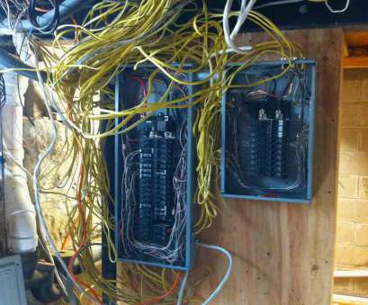 neat electrical panel wiring Show Me Your Neatly Wired Panels?, Electrical -, Chatroom Home 13 Best Neat Electrical Panel Wiring Collections