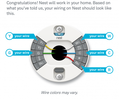 nest 1 wiring diagram Nest Thermostat Wiring Diagram, wiring Nest 1 Wiring Diagram Top Nest Thermostat Wiring Diagram, Wiring Pictures