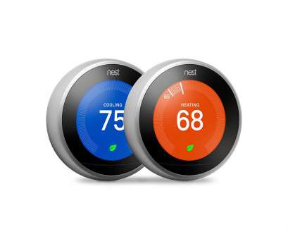 nest t4000es wiring diagram Nest Smart Learning Wi-Fi Programmable Thermostat,, Gen, Stainless Steel (2-Pack) Nest T4000Es Wiring Diagram Brilliant Nest Smart Learning Wi-Fi Programmable Thermostat,, Gen, Stainless Steel (2-Pack) Galleries