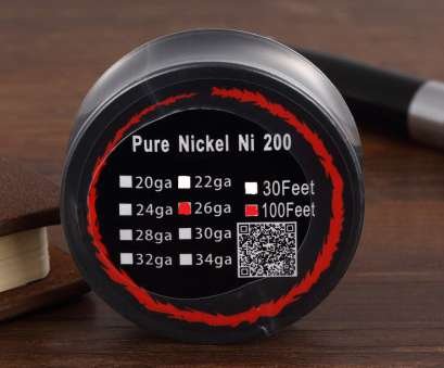 ni200 26 gauge wire PURE NICKEL Ni200 Pure Nickel Wire, Feets with 26 Gauges E Cigarette, Coils, Temp Control, Mod-in Cable Winder from Consumer Electronics on Ni200 26 Gauge Wire Perfect PURE NICKEL Ni200 Pure Nickel Wire, Feets With 26 Gauges E Cigarette, Coils, Temp Control, Mod-In Cable Winder From Consumer Electronics On Galleries