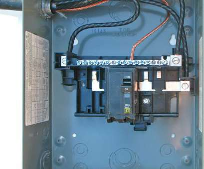 Nice Electrical Panel Wiring Por Square D Breaker, Wiring ... on