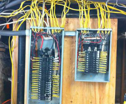 nice electrical panel wiring Show Me Your Neatly Wired Panels?, Electrical -, Chatroom Home 18 Cleaver Nice Electrical Panel Wiring Collections